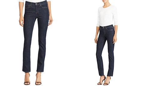 Lauren Ralph Lauren Premier Straight-Leg Jeans in Rinse Wash - Bloomingdale's_2