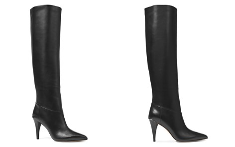 MICHAEL Michael Kors Women's Rosalyn Leather Pointed Toe Tall Boots - Bloomingdale's_2