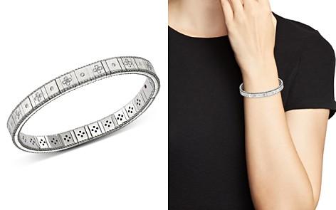 Roberto Coin 18K White Gold Princess Diamond Bracelet - Bloomingdale's_2