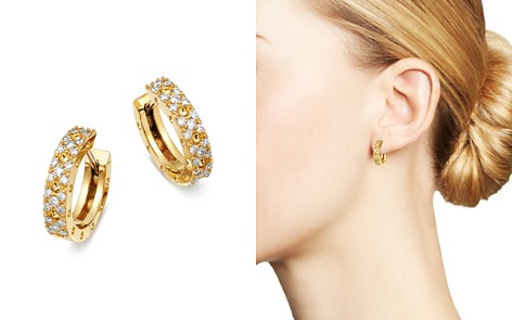 Roberto Coin 18K Yellow Gold Symphony Pois Moi Diamond Earrings - Bloomingdale's_2