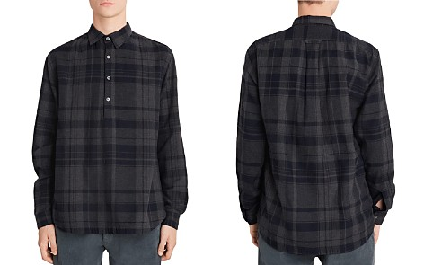 Barena Pavan Plaid Regular Fit Popover Shirt - Bloomingdale's_2