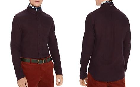 Scotch & Soda Brushed Mélange Regular Fit Button-Down Shirt - Bloomingdale's_2