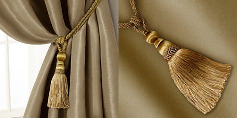 Elrene Home Fashions Amelia Tassel Curtain Tieback - Bloomingdale's_2