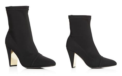 MARION PARKE Women's Cap Toe High-Heel Booties - Bloomingdale's_2