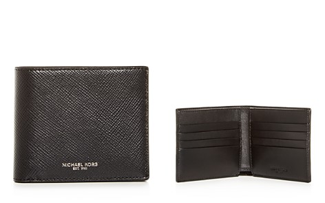 Michael Kors Harrison Crossgrain Leather Bi-Fold Wallet - Bloomingdale's_2