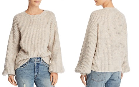 MILLY Sparkle Knit Sweater - Bloomingdale's_2