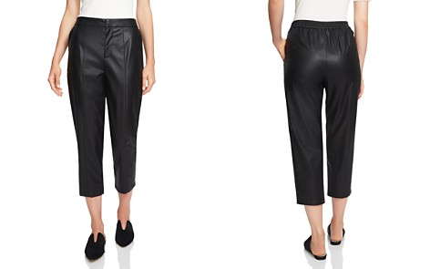 1.STATE Faux-Leather Cropped Pants - Bloomingdale's_2