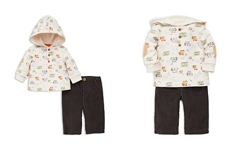 Little Me Boys' Woodland Animals Hoodie & Corduroy Pants Set - Baby - Bloomingdale's_2