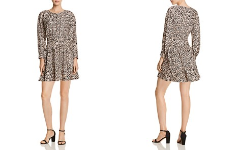Rebecca Taylor Leopard Print Mini Dress - Bloomingdale's_2