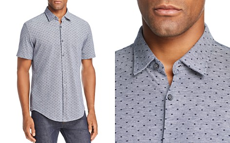BOSS Ronn Dobby Dot Slim Fit Button-Down Shirt - Bloomingdale's_2