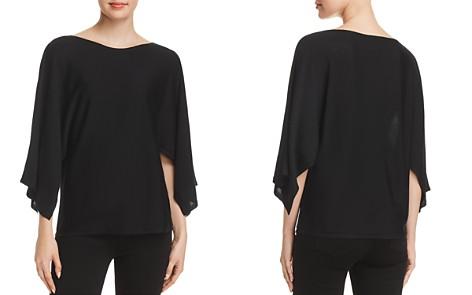 Eileen Fisher Cape-Sleeve Top - 100% Exclusive - Bloomingdale's_2