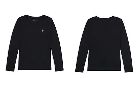 Polo Ralph Lauren Girls' Long-Sleeve Tee - Big Kid - Bloomingdale's_2