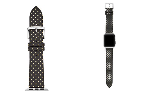 kate spade new york Polka Dot Apple Watch® Leather Strap, 38mm - Bloomingdale's_2