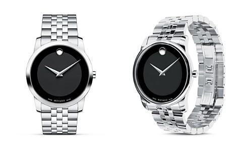 Movado Museum Classic® Stainless Steel Watch, 40 mm - Bloomingdale's_2