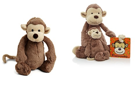 "Jellycat Bashful Medium Monkey - 12"" - Bloomingdale's_2"
