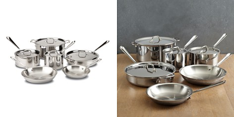 All Clad Stainless Steel 10-Piece Set - Bloomingdale's Registry_2