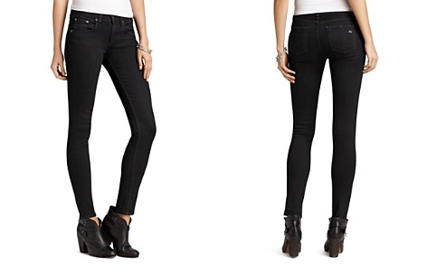 rag & bone/JEAN Jeans - Skinny Jeans in Coal Wash - Bloomingdale's_2