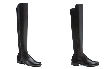 Stuart Weitzman Women's 5050 Leather Over the Knee Boots - Bloomingdale's_2