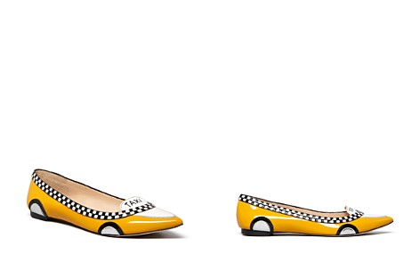 kate spade new york Go Taxi Ballet Pointed Toe Flats - Bloomingdale's_2
