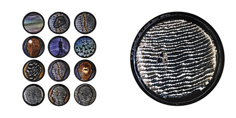 Bernardaud L'Art de la Table The Boundless Sea by David Lynch Coupe Plates, Set of 12 - Bloomingdale's_2