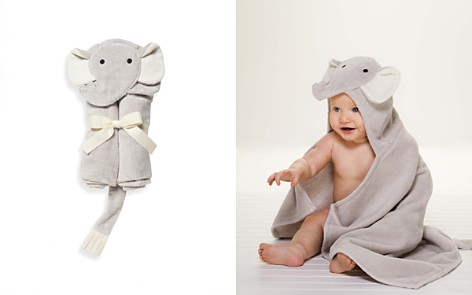Elegant Baby Infant Unisex Elephant Baby Bath Wrap - Bloomingdale's_2