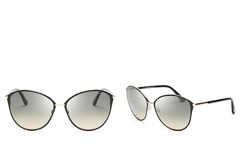 Tom Ford Penelope Oversized Round Sunglasses, 59mm - Bloomingdale's_2