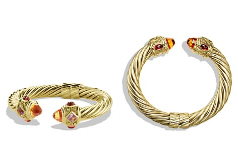 David Yurman Renaissance Bracelet with Citrine and Iolite in Gold - Bloomingdale's_2