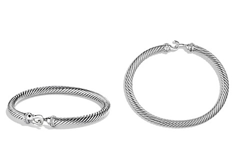 David Yurman Cable Buckle Bracelet with Diamonds - Bloomingdale's_2