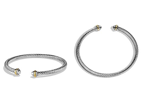 David Yurman Cable Classics Bracelet with Gold - Bloomingdale's_2