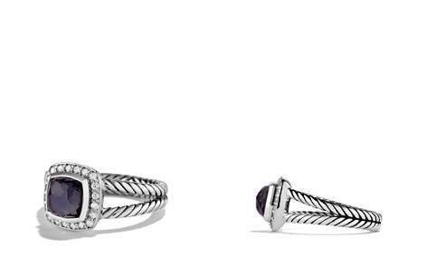 David Yurman Petite Albion Ring with Black Orchid & Diamonds - Bloomingdale's_2