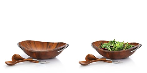 Nambé Braid Collection Salad Bowl & Servers - Bloomingdale's Registry_2