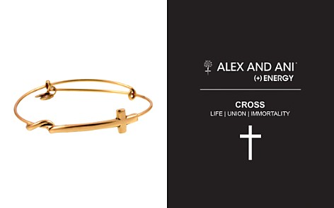 Alex and Ani Cross Wrap Expandable Wire Bangle - Bloomingdale's_2
