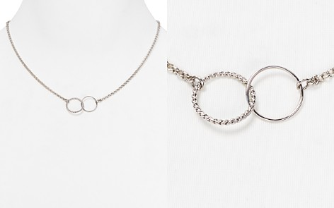 """Sterling Silver Interlocking Pendant Necklace, 18"""" - 100% Exclusive - Bloomingdale's_2"""