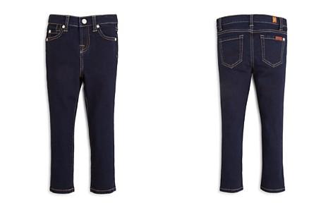 7 For All Mankind Girls' Dark Indigo Skinny Jeans - Little Kid - Bloomingdale's_2