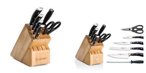 Wusthof Classic Ikon 7-Piece Knife Block Set - Bloomingdale's Registry_2