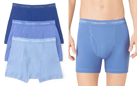 Calvin Klein Cotton Classics Boxer Briefs, Pack of 3 - Bloomingdale's_2