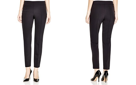 Lafayette 148 New York Acclaimed Stretch Slim Pintuck City Pants - Bloomingdale's_2