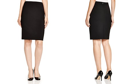 BOSS Vilea A Line Skirt - Bloomingdale's_2