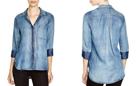 Bella Dahl Chambray Button-Down Shirt - Bloomingdale's_2