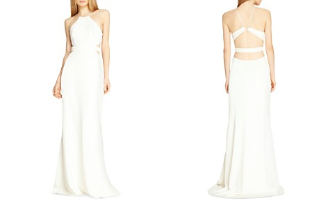 HALSTON HERITAGE Cutout Gown - Bloomingdale's_2