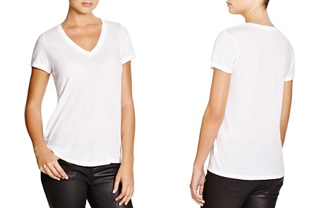 Splendid Very Light Jersey V-Neck Tee - Bloomingdale's_2