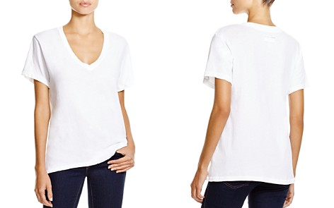 Current/Elliott Tee - The V-Neck - Bloomingdale's_2
