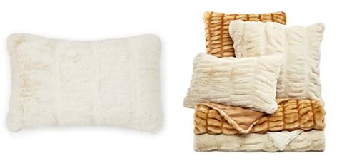 """Hudson Park Sculpted Faux Fur Decorative Pillow, 12"""" x 20"""" - 100% Exclusive - Bloomingdale's Registry_2"""