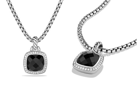 David Yurman Albion Pendant with Black Onyx and Diamonds - Bloomingdale's_2
