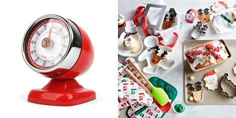 Kikkerland Red Vintage Streamline Kitchen Timer - Bloomingdale's_2