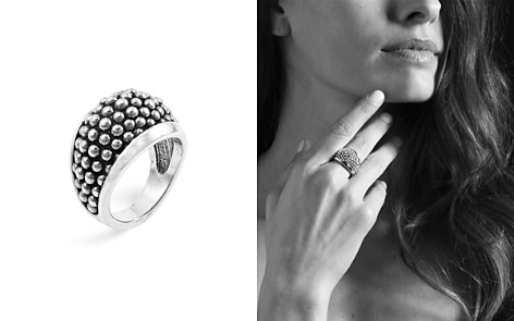 "LAGOS Sterling Silver ""Caviar"" Domed Ring - Bloomingdale's_2"