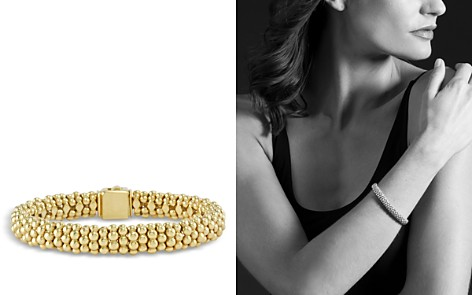 LAGOS Caviar Gold Collection 18K Gold Beaded Bracelet - Bloomingdale's_2