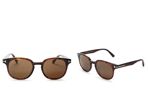 Tom Ford Men's Frank Sunglasses with Barberini Lenses, 50mm - Bloomingdale's_2