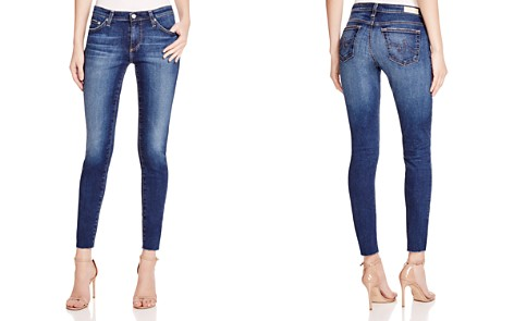 AG Legging Ankle Jeans with Raw Hem in 7 Years Break - Bloomingdale's_2