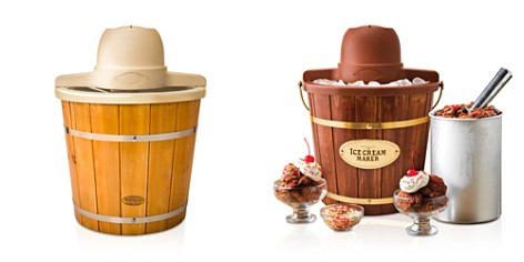 Nostalgia Wooden Ice Cream Maker - Bloomingdale's_2